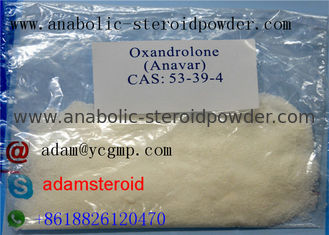 China Oral Anabolic Steroids CAS 53-39-4 , Oxandrolone Anavar For Fat Loss supplier