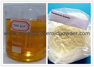 China Powerful Anabolic Steroids Injections Trenbolone Acetate 100mg / ML For Muscle Gaining supplier