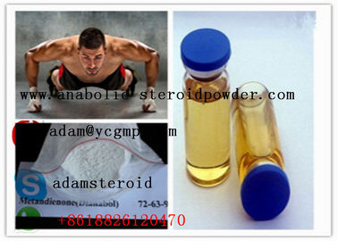 China 99.7% Purity Oral Anabolic Steroids  Metandienone D-bol For Muscle Growth distributor
