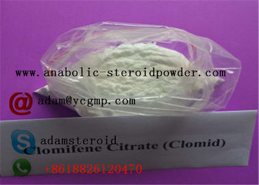 China Clomid Anti Estrogen Steroids Clomifene Citrate For Post Cycle Therapy ( PCT ) 50-41-9 distributor