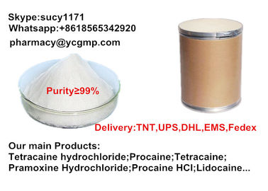 China Pharmaceutical Bupivacaine CAS:2180-92-9 As Local Anaesthetics Drugs distributor