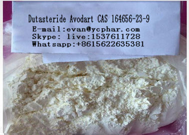 China Dutasteride Avodart Sex Steroid Hormones , Male Enhancement Powder 164656-23-9 distributor